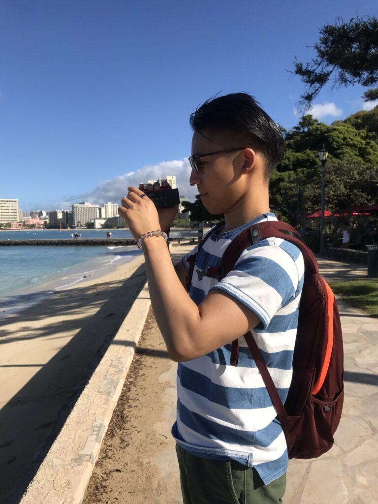 ※ハワイ旅行の写真